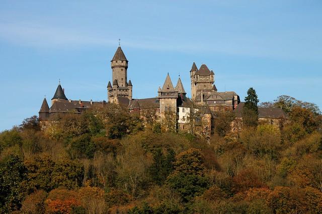 autumn trips: Schloss Braunfels