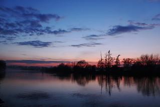 Twilight on the Thames
