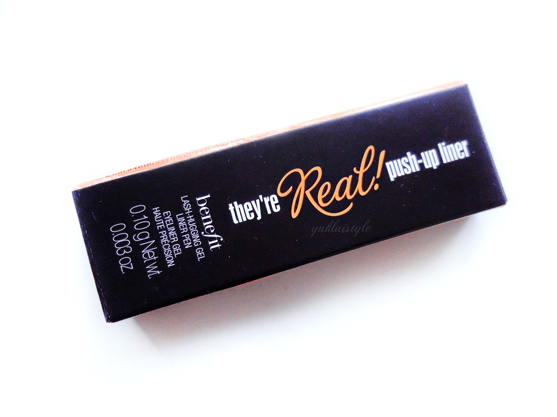 Benefit They're Real! Push-Up Liner review and swatch