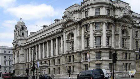 El edificio War Office