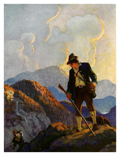 010-Rip Van Winkle-1921- ilustrado por NC Wyeth