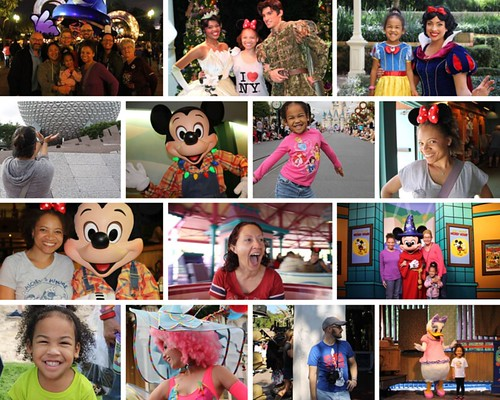 Disney World 2014 Collage