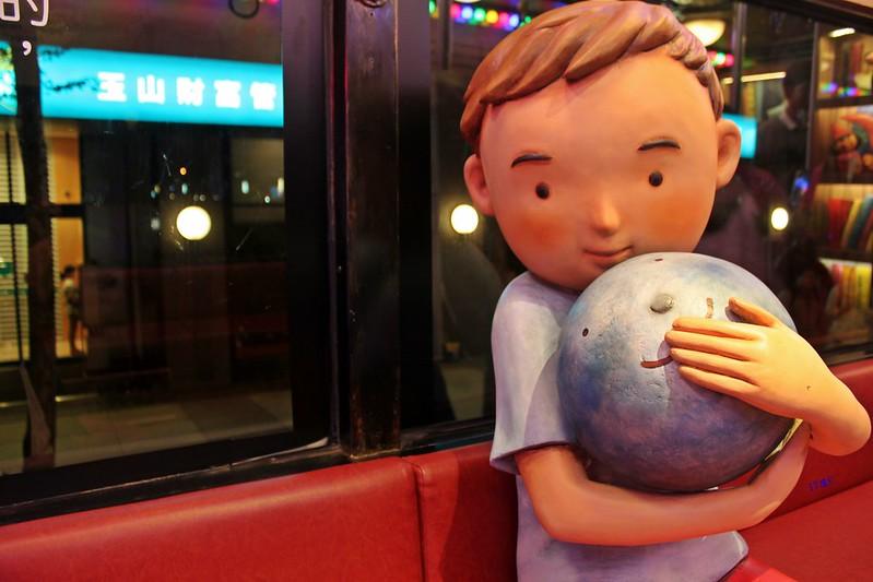 。文。台北。幾米月亮公車