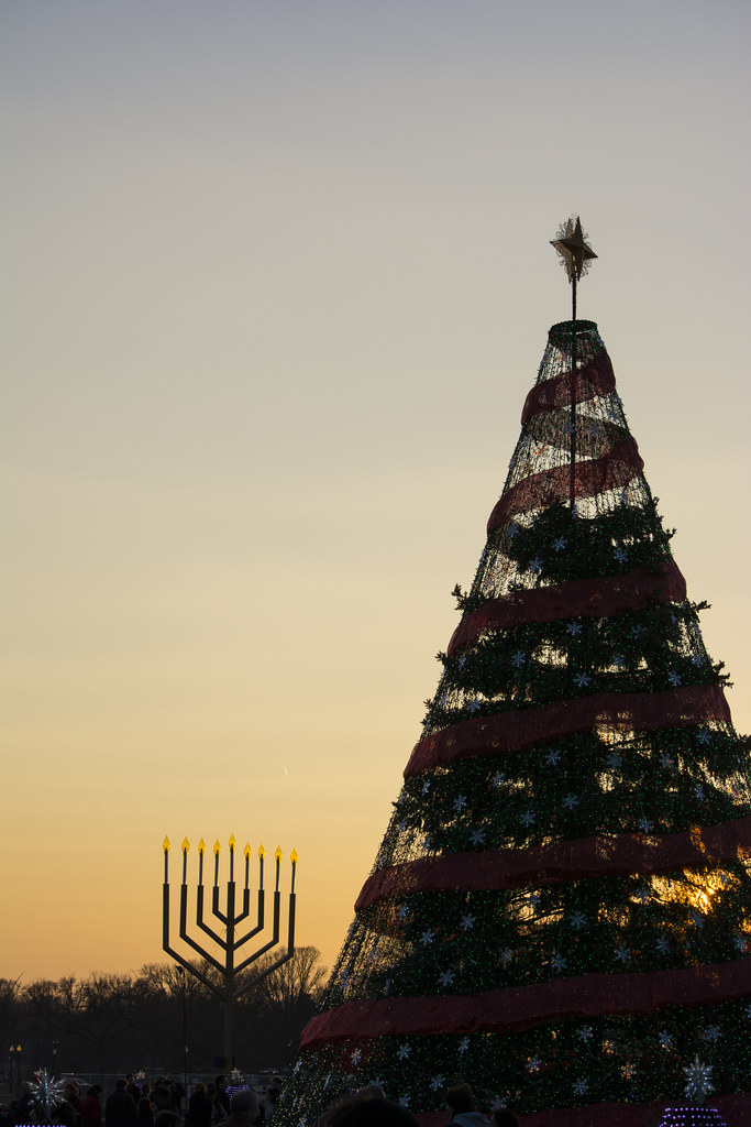 National Menorah and National Christmas Tree - 2014