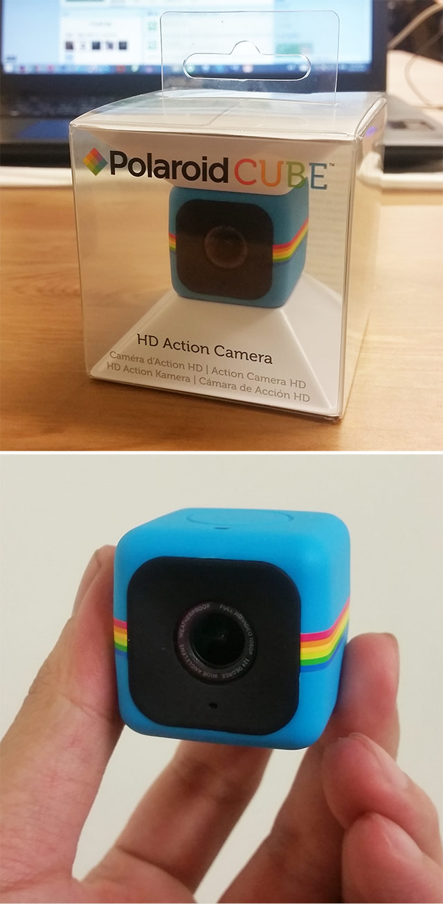 Polaroid Cube Cube骰子相機 聖誕節 交換禮物 拍照 磁鐵 錄影 行車記錄 取締神器 寶麗來 運動攝影機 方塊攝影機 運動相機 相機 方塊相機 迷你攝影機 人2 人2的插画星球 People2 instagram people2planet