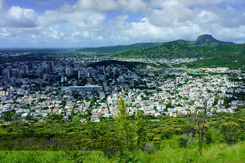 travel mountain holiday landscape harbour mauritius 2014 portlouis capitalcity signalmountain quoinbluff