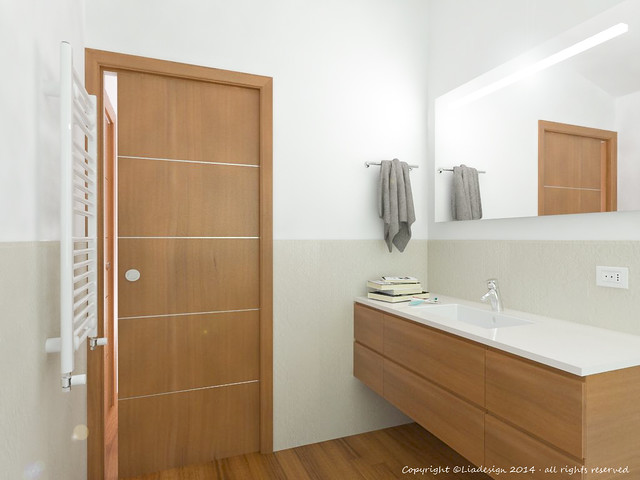 Stunning altezza rivestimenti bagno gallery idee - Altezza mattonelle bagno ...