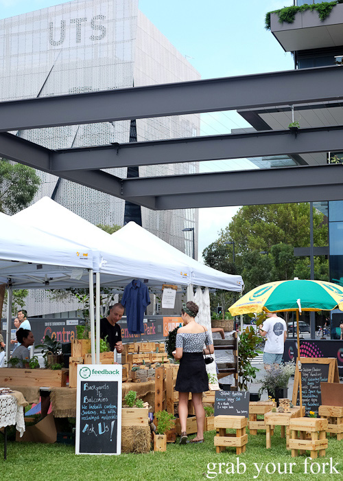 Brewery Yard Markets in Chippendale