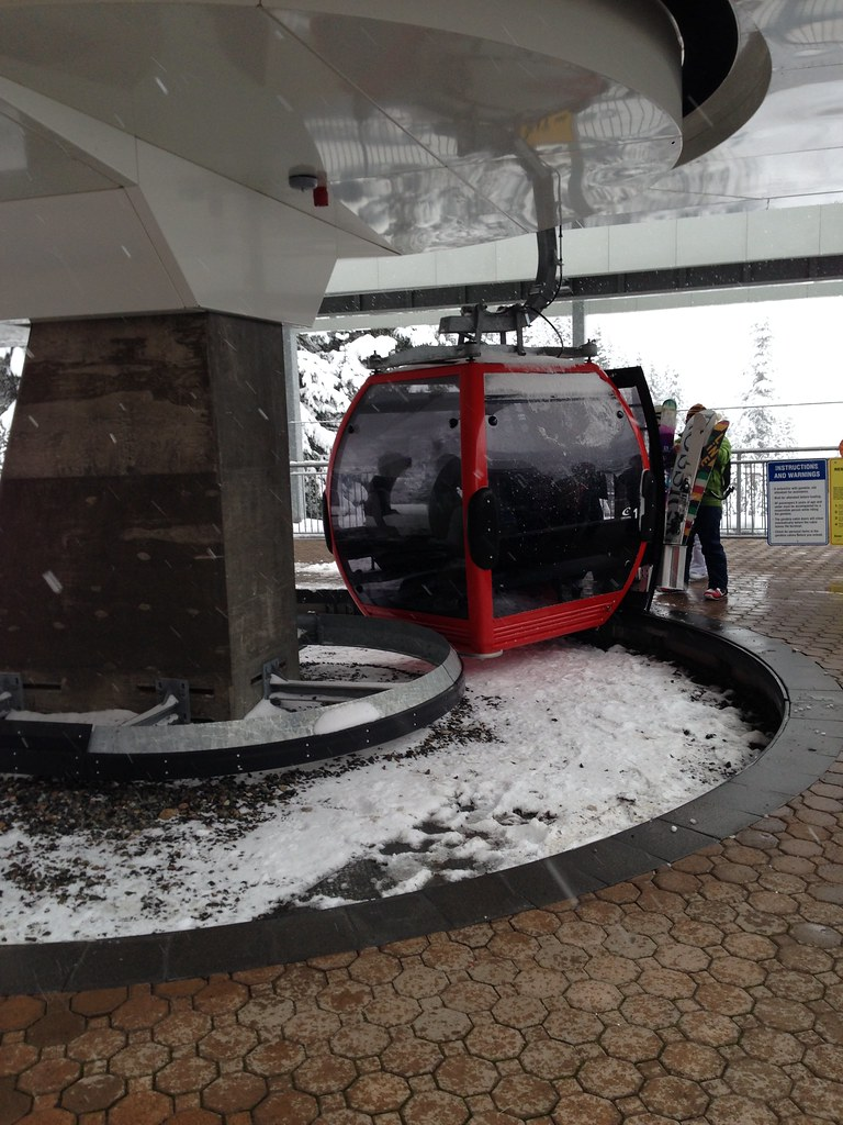 Boarding the Gondola
