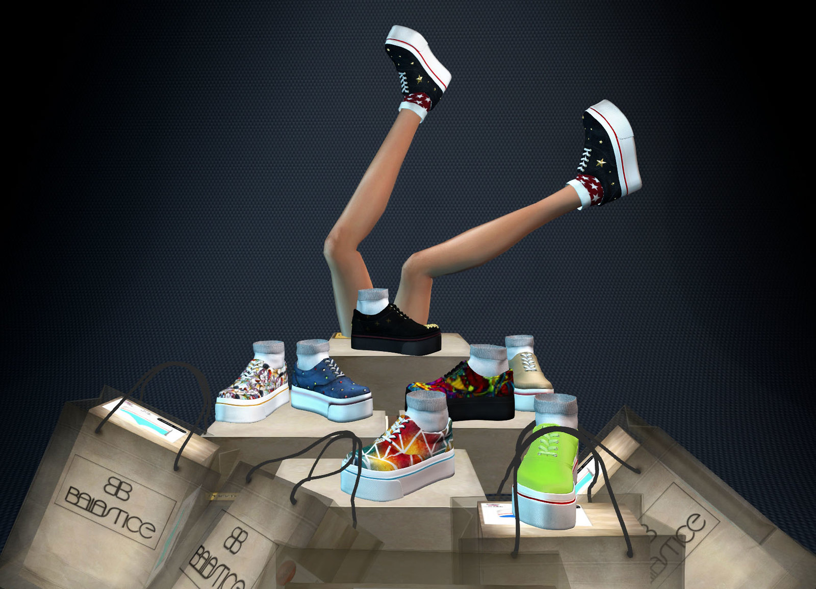 Baiastice - London Sneakers for Arcade Gacha