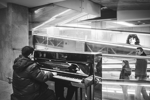 Piano Player at the Central Station