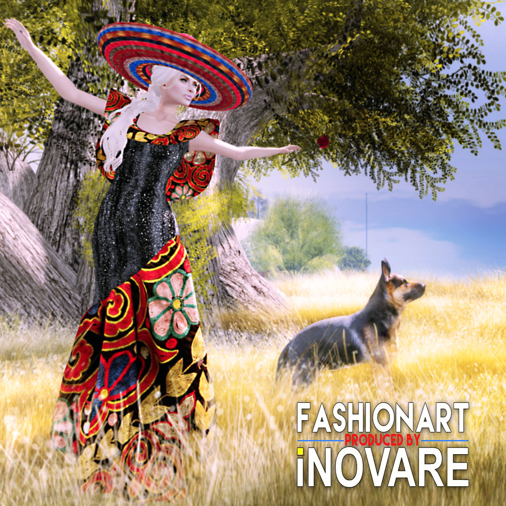 FASHIONART Nyas VivaLaMexicoDress