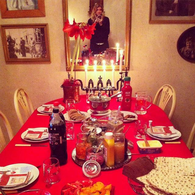 Ett stycke veganskt julbord för hela familjen! #vadveganeräter