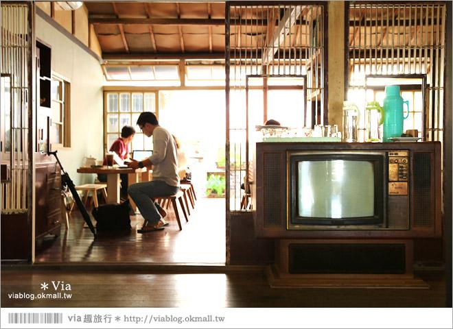 【台中老宅餐廳】台中下午茶~拾光機。日式老宅的迷人新風情,一起文青一下午吧!25
