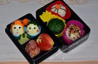 Rice Balls Bento