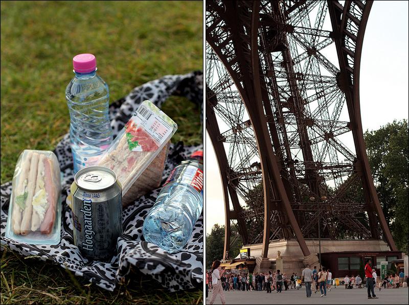 Champs de Mars picnic