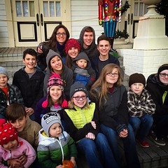 All the kids went to Six Flags for Christmas. #itwascold #latergram #sixflagsovertexas