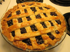 meal(0.0), produce(0.0), apple pie(0.0), pie(1.0), breakfast(1.0), baking(1.0), blueberry pie(1.0), blackberry pie(1.0), linzer torte(1.0), baked goods(1.0), food(1.0), dish(1.0), dessert(1.0), cherry pie(1.0), cuisine(1.0),