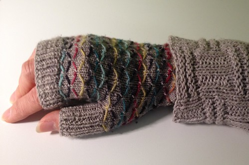Lattice Mitts and Hemp Sweater