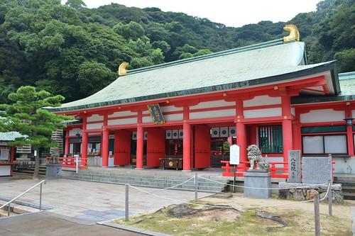 赤間神宮:拝殿