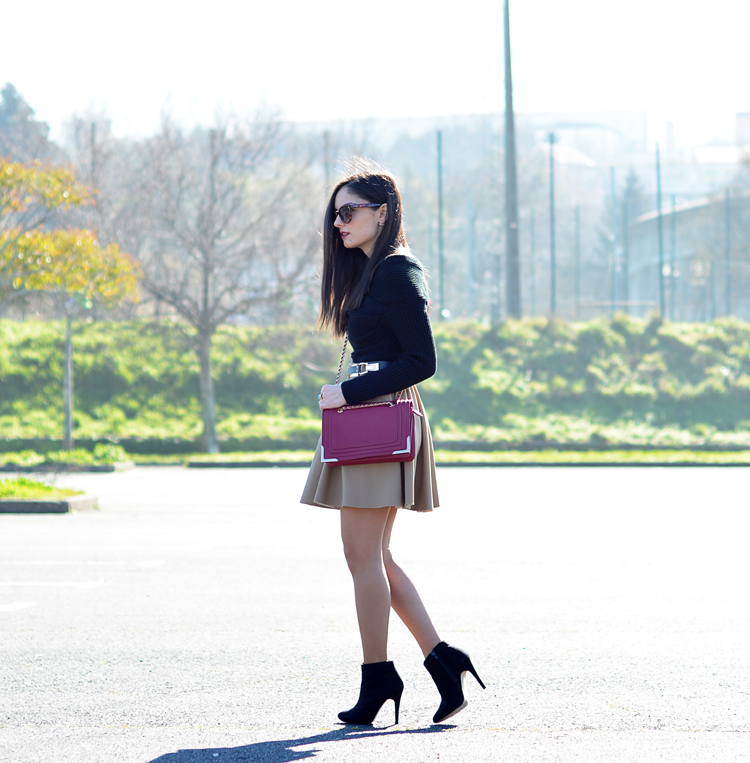 Zara_ootd_camel_chicwish_outfit_burdeos_boots_botines_08