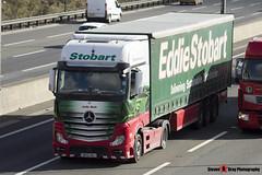 Mercedes Benz Actros 4x2 - GK12 UAJ - H3327 - Jodie Beth - Eddie Stobart - M1 J10 Luton, Bedfordshire - Steven Gray - IMG_4634