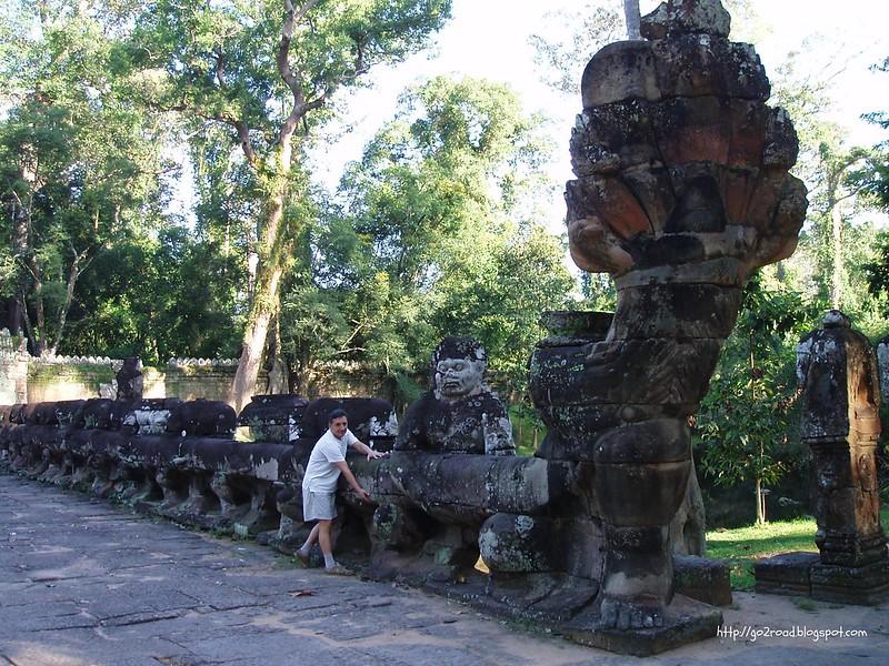 Пре Кан, Ангкор, вход