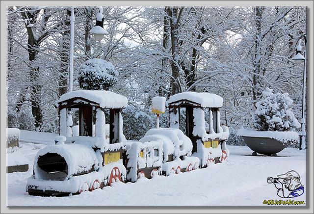 10 Primera nevada en Briviesca 2015