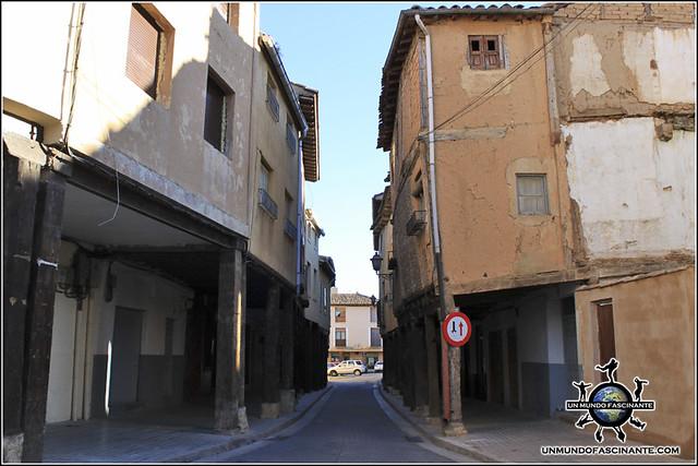 Calle Mayor,  Berlanga de Duero (Soria, España)