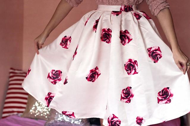 roses skirt 2