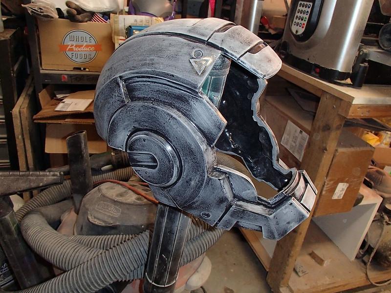 WM Helmet Sanded
