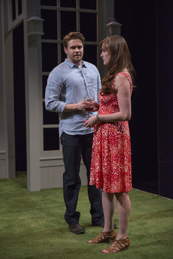 Jordan Brown (Christopher) and Amanda Drinkall (Molly)
