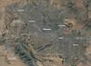 NASA Satellite Captures Super Bowl Cities - Phoenix [annotated]