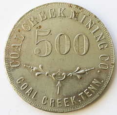 Coal Creek token obverse