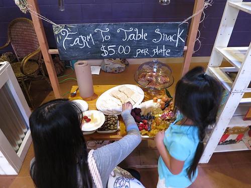 Montessori refreshments stand