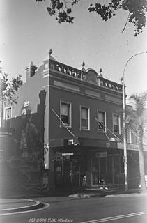 Lisborne House (1888), Wollongong (1946 expired Kodak Fluorographic 35mm film)
