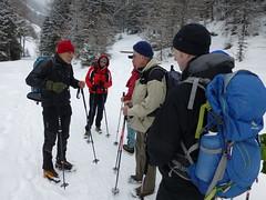 Start der Wanderung auf die Schweinsfurter Hütte
