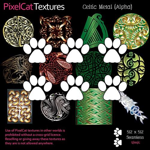 PixelCat Textures - Celtic Metal (Alpha)