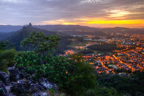 morning travel sky mountain nature beautiful rock sunrise landscape town xpro hiking malaysia fujifilm bukit bukittabur visitmalaysia taburhill taburwest azihanyusoffphotography