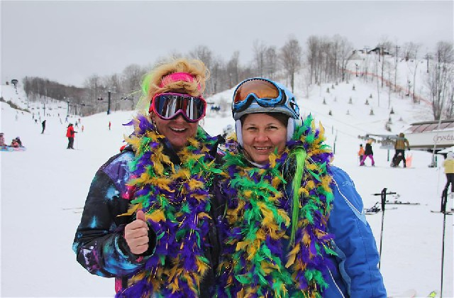 Mardi Gras Crystal Mountain
