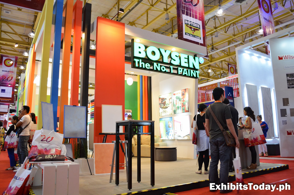 Boysen Exhibit Booth