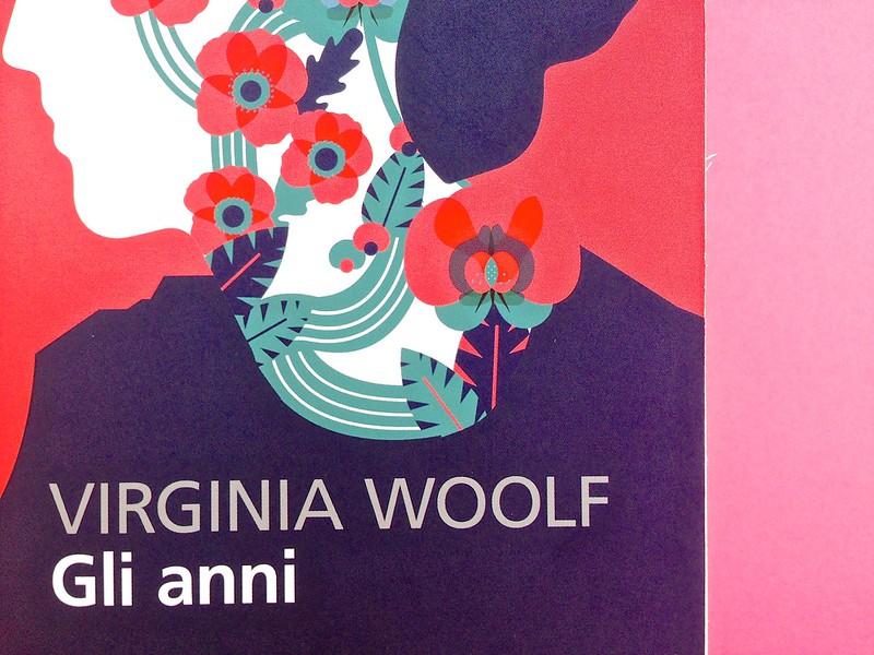 Gli anni, di Virginia Woolf. Feltrinelli 2015. Art dir.: Cristiano Guerri; alla cop.: ill. col. di Carlotta Cogliati. Copertina (part.), 5