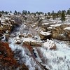 A beautiful day for a hike in Castlewood Canyon State Park, Parker, Colorado. #Parker #Colorado #CastlewoodCanyon