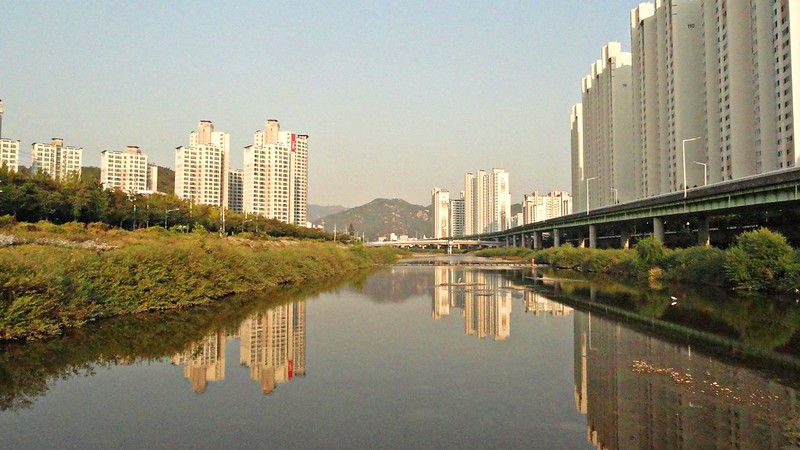 At Anyangcheon, Anyang, South Korea