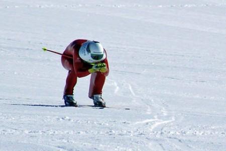Radek Čermák je světovým rekordmanem! Jel 145 km/hod na běžkách!