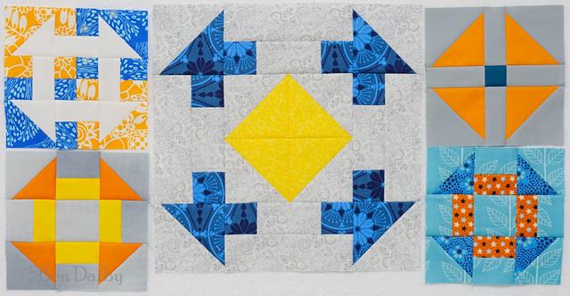 do. Good Stitches BELIEVE circle - March 2015 blocks
