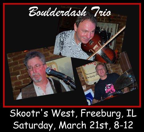 Boulderdash Trio 3-21-15