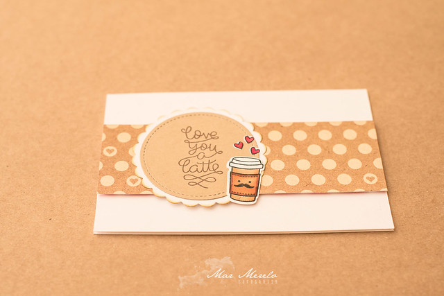 Card Love you a latte 3