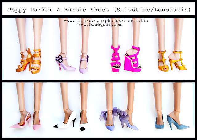 Poppy Parker & Louboutin/Silkstone Barbie Shoes