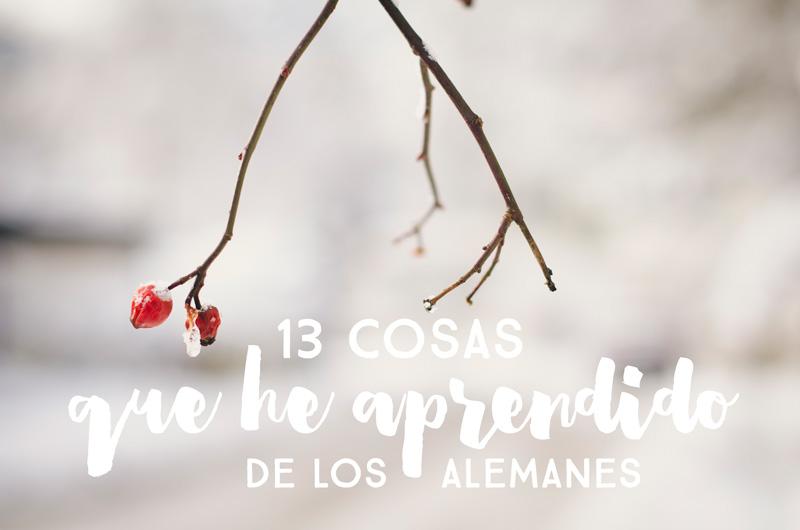 13 cosas